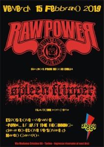RAW POWER 15.02.2019 TORINO