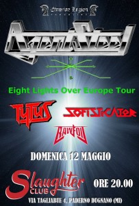 Agent Steel 12.05.2019 Paderno Dugnano