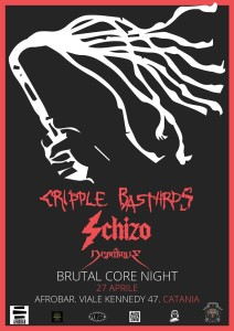 Cripple Bastards Schizo 27.04.2019 Catania