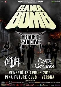 Gama Bomb 12.04.2019 Verona
