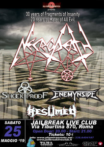 Necrodeath 25.05.2019 Roma hi