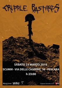 Cripple Bastards 23.03.2019 Pescara