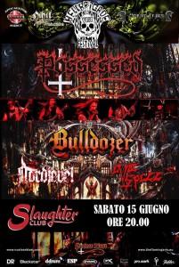 Possessed Bulldozer 15.06.2019 Milano