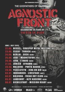 Agnostic Front 04.07.2019 Bologna