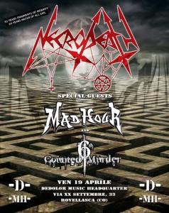 Necrodeath 19.04.2019 Rovellasca