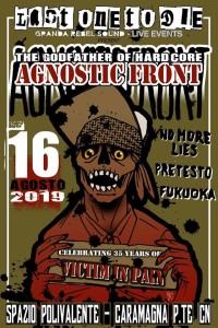 Agnostic Front 16.08.2019 Caramagna