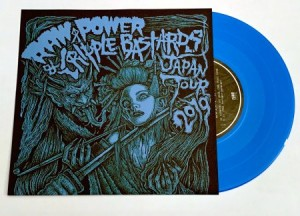 Cripple Bastards Raw Power - Japan Tour 2019 (2019 - FOAD Records) - 2nd press ltd 250 copies