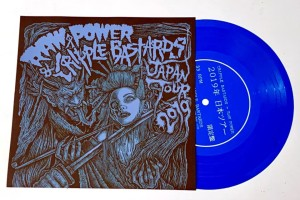 Cripple Bastards Raw Power - Japan Tour 2019 (2019 - FOAD Records) - ltd 250 copies