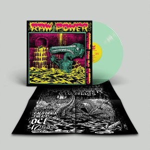 Raw Power - Screams From the Gutter - 35th anniversary gatefold LP (2020 reissue - FOAD Records) ltd 150 copies