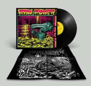 Raw Power - Screams From the Gutter - 35th anniversary gatefold LP (2020 reissue - FOAD Records) ltd 300 copies